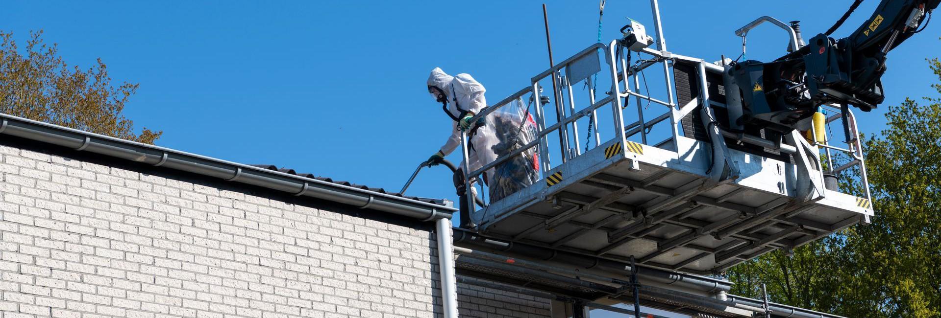 Professionele asbestsanering